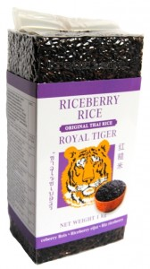 Ryż Riceberry Fioletowy Royal Tiger 1kg